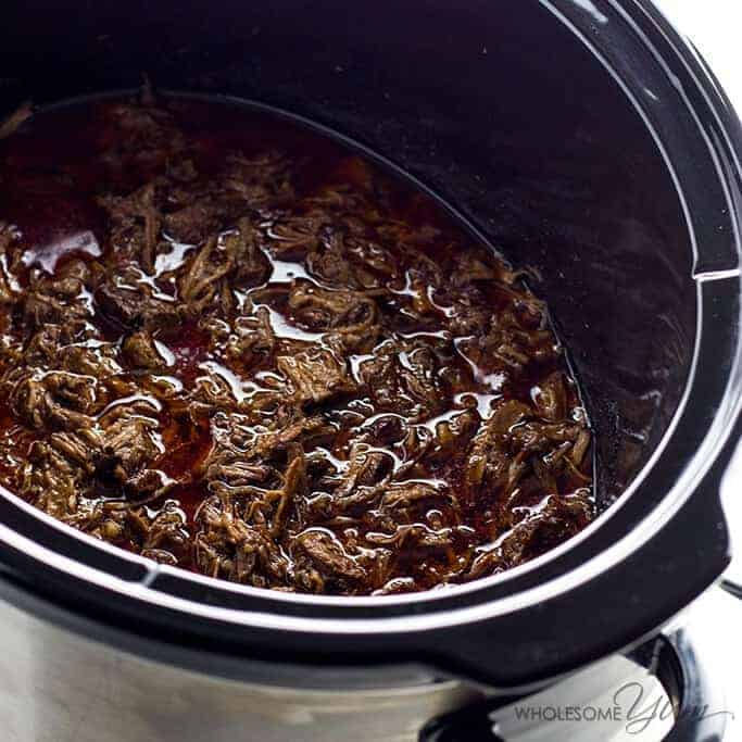 Healthy Paleo Slow Cooker Dinners - Chipotle-Style Barbacoa