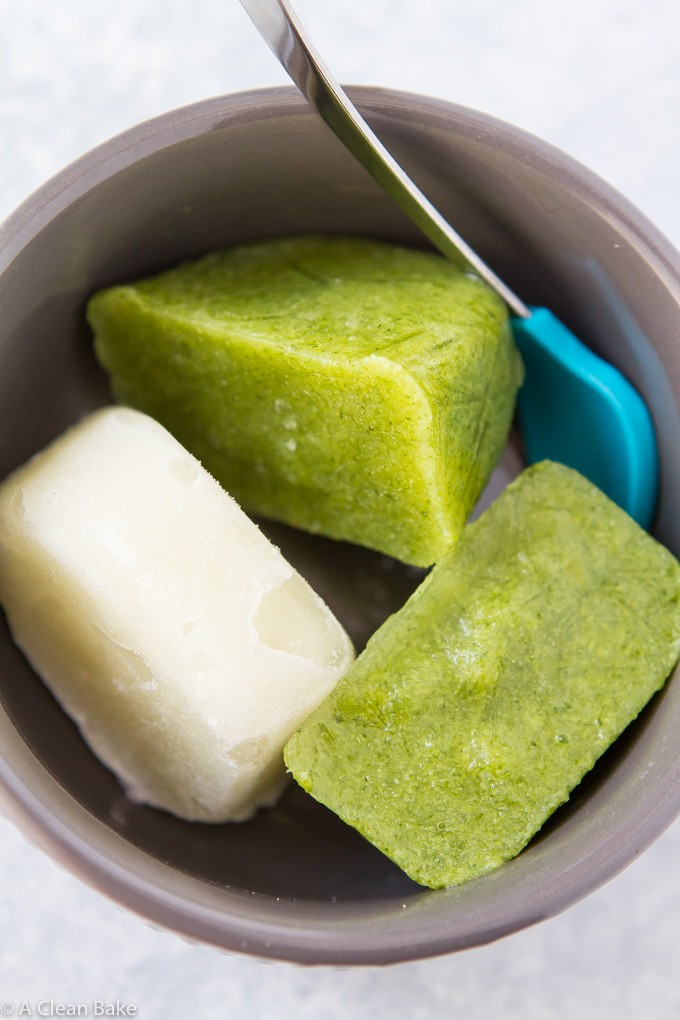 Homemade Baby Food Purees via the Ice Cube Tray Method - Easy, Realistic Method for Real Food Baby Food Purees!
