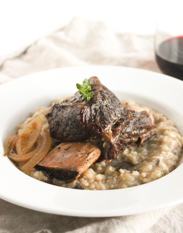 Healthy Paleo Slow Cooker Dinners - Balsamic Braised Short Ribs