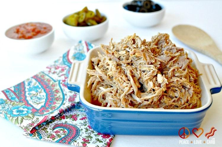 Healthy Paleo Slow Cooker Dinners - Shredded Taco Pork
