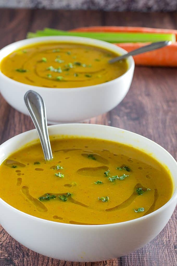 Healthy Paleo Slow Cooker Dinners - Butternut Squash Soup