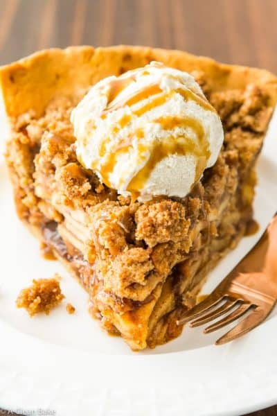 Paleo Apple Pie with Crumb Topping (Dutch Apple Pie)