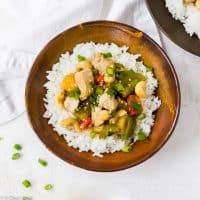 Cashew Chicken (30 Minutes & One Pan)