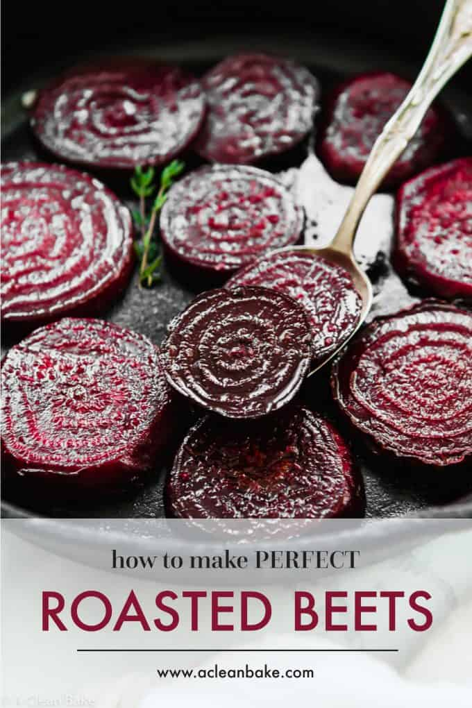 Perfect roasted beets that will make you love beets! When you roast them like this, they taste like candy. #glutenfree #glutenfreerecipes #healthyrecipes #fallrecipes #paleorecipes #paleo #lowcarb #lowcarbrecipes #whole30 #whole30recipes
