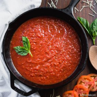 Quick Marinara Sauce (30 minutes, gluten free, paleo, whole30, vegan, low carb)