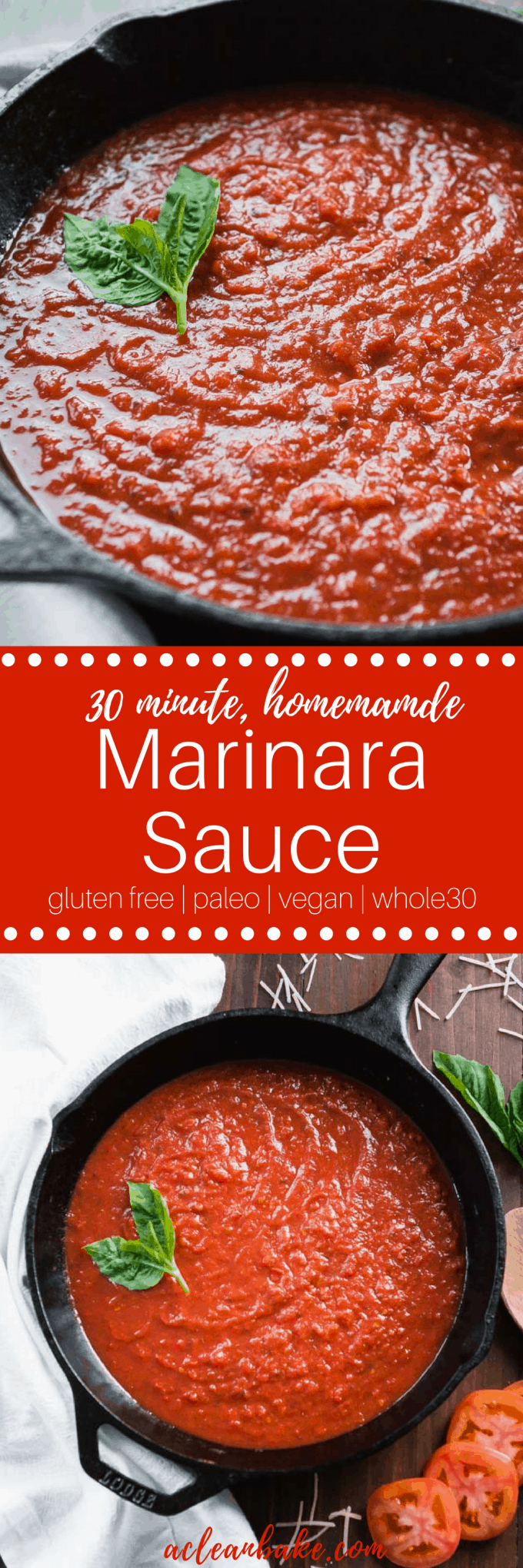 Quick Marinara Sauce