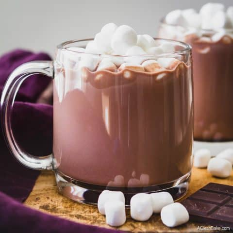Paleo & Vegan Hot Chocolate (With Sugar Free/Low Carb Option)
