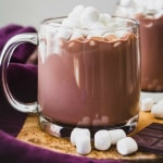 #Paleo and #Vegan hot chocolate mix. Make this easy mix and keep it in your cupboard for the next chilly day! #paleorecipe #lowcarb #sugarfree #Keto #chocolaterecipe #drinkrecipe #keto #glutenfree #naturallysweetened
