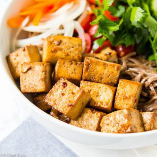 Five Ingredient Baked Tofu