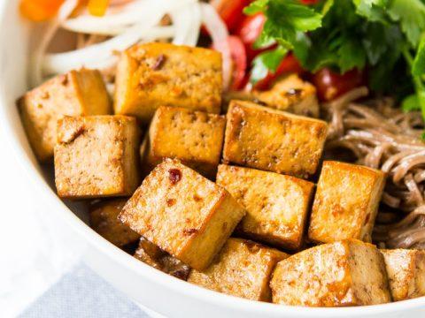 Baked Tofu 5 Ingredients Needed Weeknight Tofu Recipes A Clean Bake