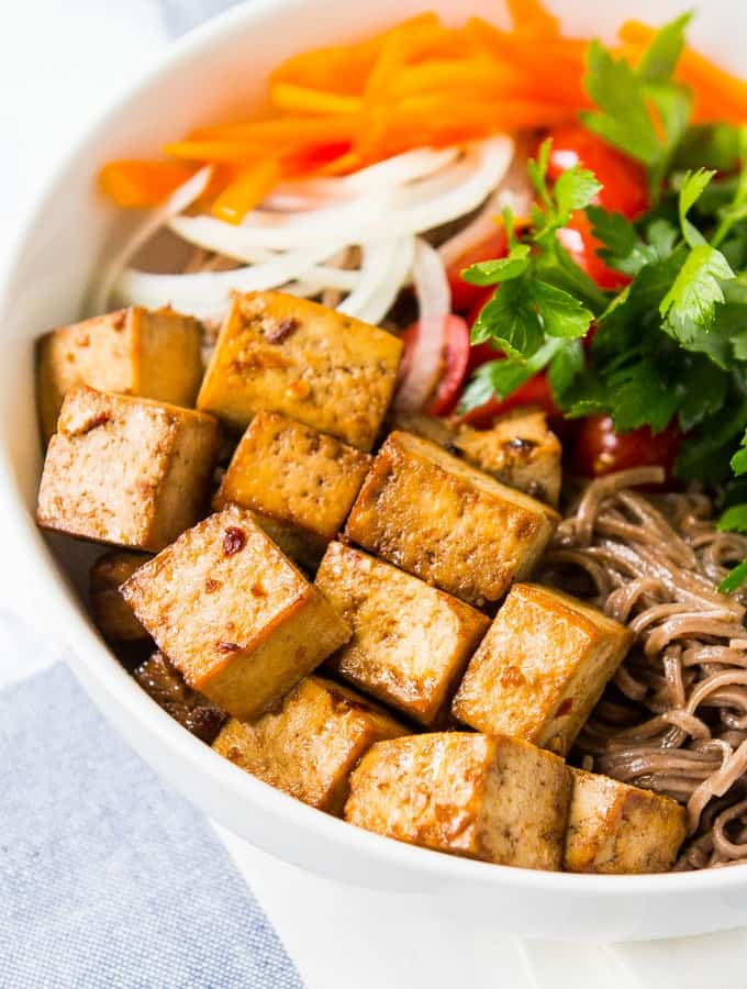 Baked Tofu Using Only 5 Vegan Ingredients + Tofu Recipes For Easy Dinners