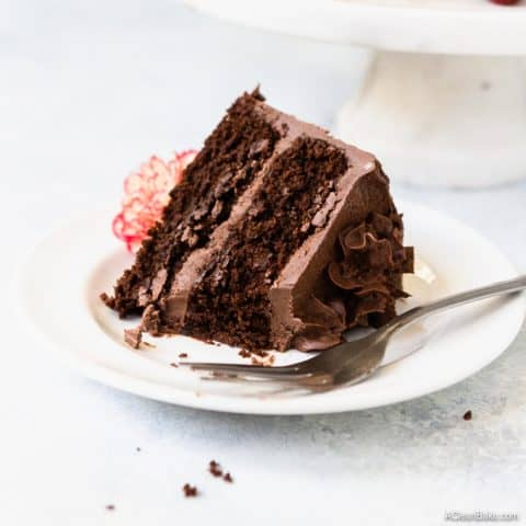 Paleo Chocolate Layer Cake
