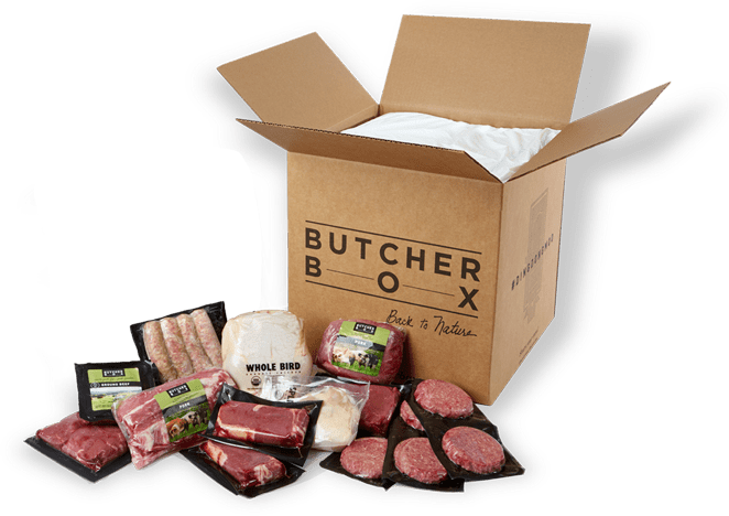 Grass fed beef delivered to your door, plus free bacon!