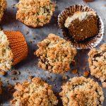 Batch of paleo pumpkin muffins