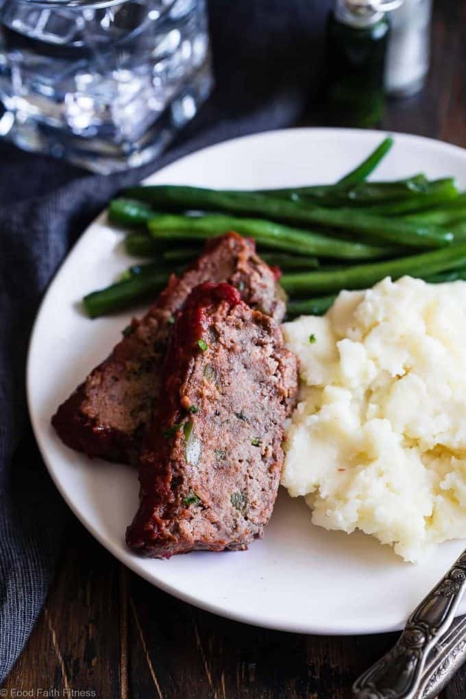 10 Paleo Ground Beef Recipes: Meatloaf