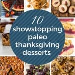 10 paleo thanksgiving desserts