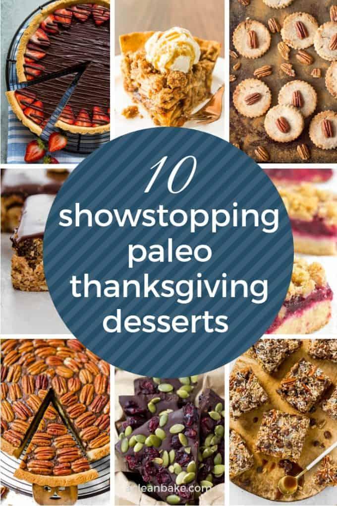 10 paleo thanksgiving desserts