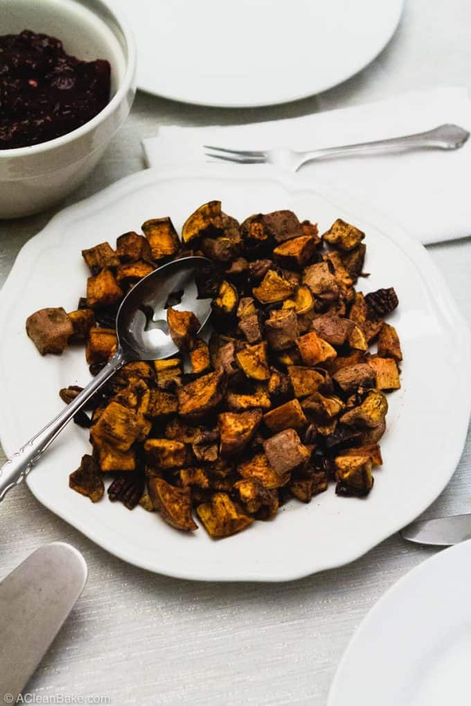 Paleo Thanksgiving Sweet Potatoes