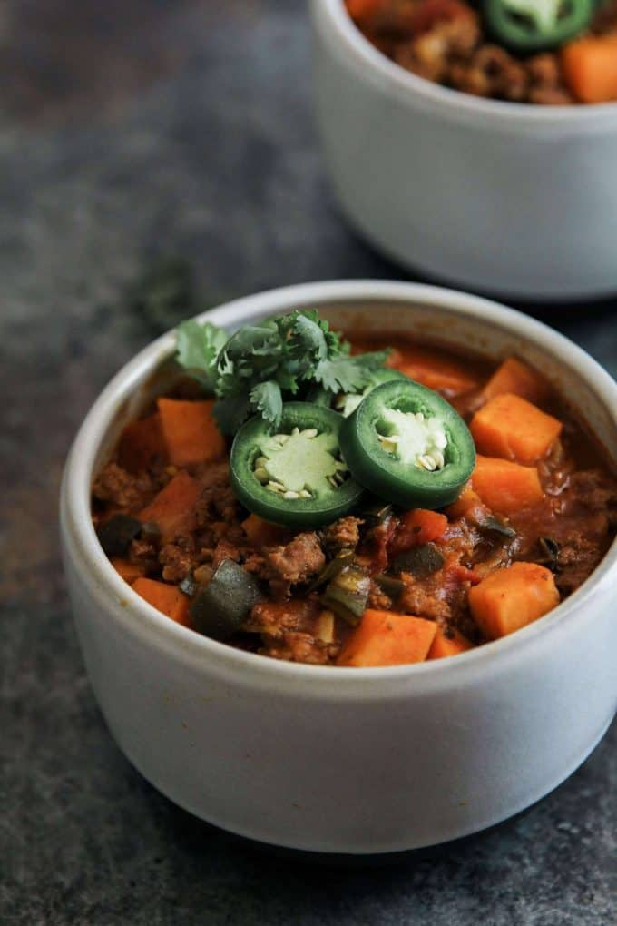 Paleo Ground Beef Recipes- Pumpkin Chili