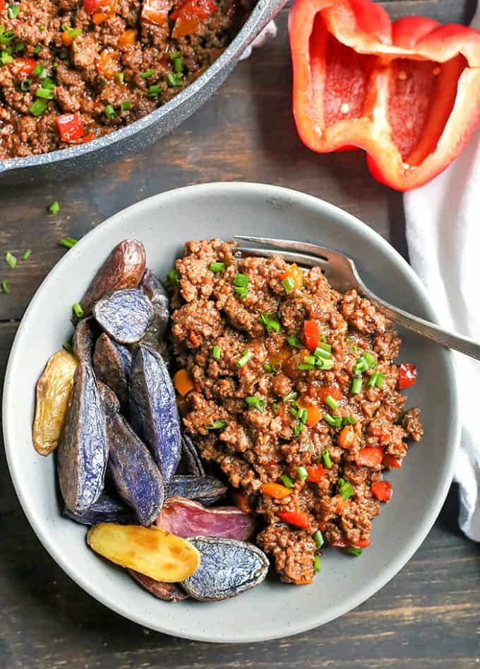 Paleo Ground Beef Recipes - Sloppy Joes