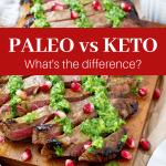 Paleo vs Keto: What's the difference #paleo #Keto #Paleodiet #paleoinformation #ketodiet #ketogenicdiet #ketoinformation #paleovsketo #ketovspaleo