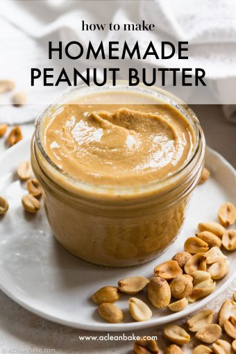 How to Make Peanut Butter (Or Another Nut or Seed Butter) at Home #glutenfree #glutenfreerecipe #Paleo #Paleorecipe #healthy #healthyrecipe #easy #easyrecipe #realfood #lowcarb #keto #peanutbutter #almondbutter #homemade #Healthyfood #budgetrecipe #diy #healthyeating #healthybreakfast #healthysnack