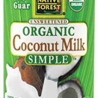 Native Forest Simple Organic Unsweetened Coconut Milk, 13.5 Fluid Ounce (Pack of 3)