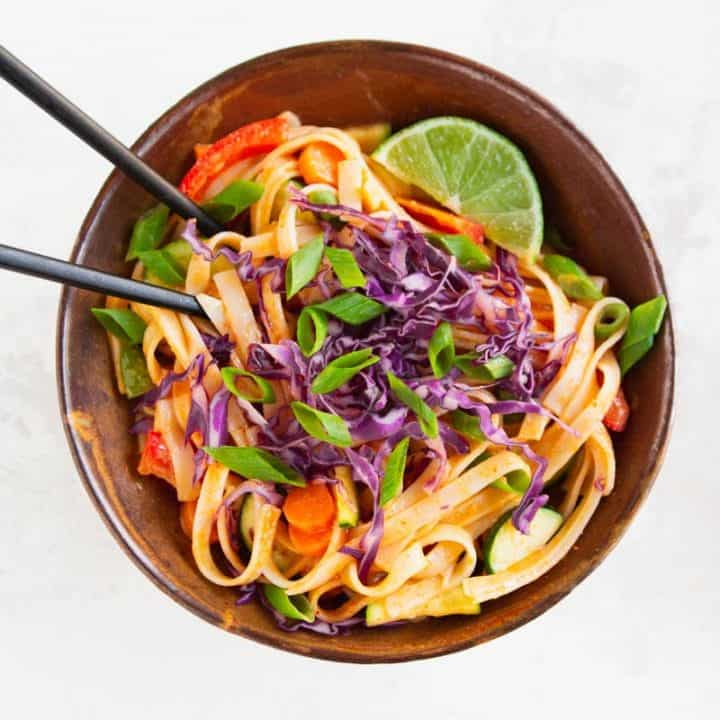 20-Minute Curry Noodles