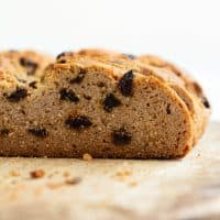 Paleo & Gluten Free Irish Soda Bread