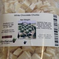 Callebaut White Chocolate Chunks 16 oz