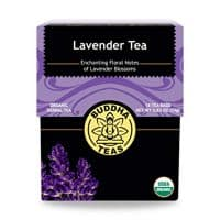 Organic Lavender Tea - Kosher, Caffeine-Free, GMO-Free - 18 Bleach-Free Tea Bags