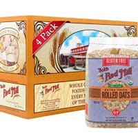 Bob's Red Mill Gluten Free Organic Extra Thick Rolled Oats, 32 Oz (4 Pack)