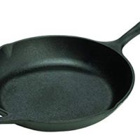 Lodge 10 Inch Cast Iron Chef Skillet