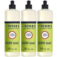 Mrs. Meyer's Clean Day Liquid Dish Soap, Lemon Verbena