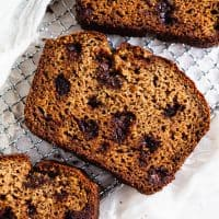 Gluten Free and Paleo Classic Banana Bread