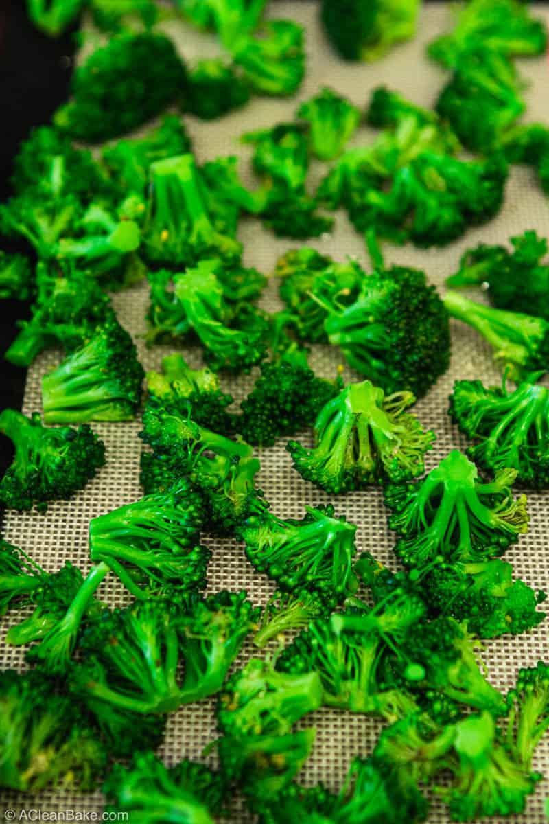 How to Freeze Broccoli: Broccoli ready to freeze