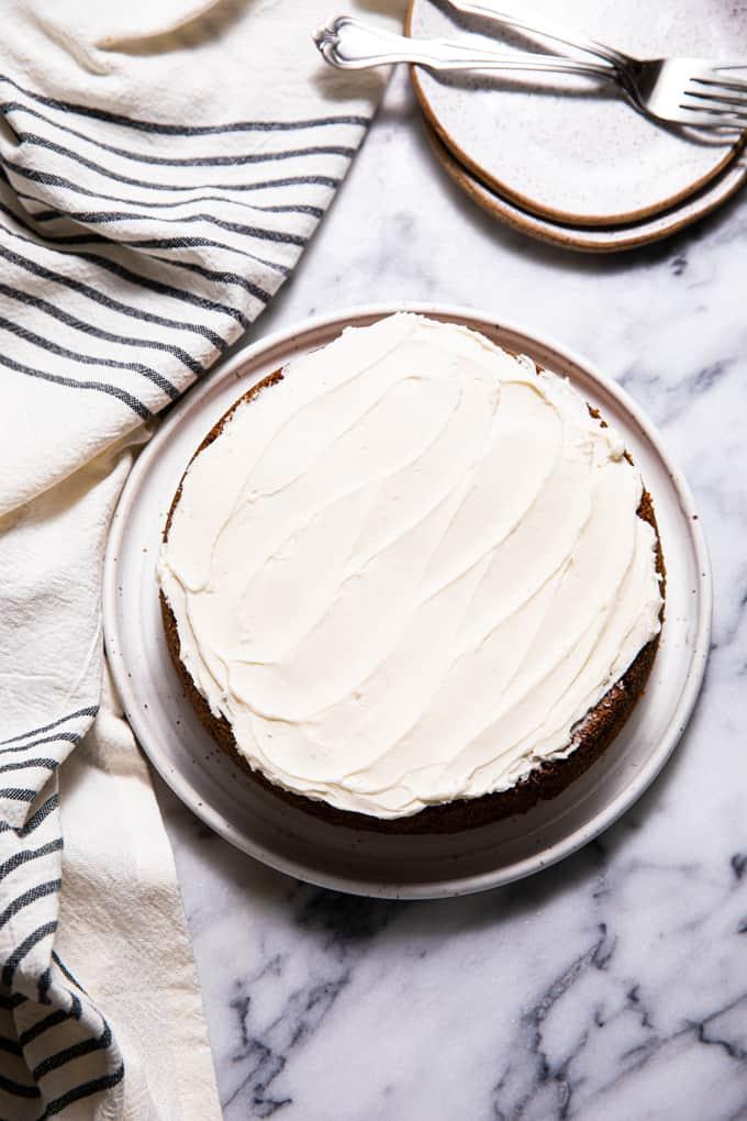 Gluten Free Paleo Zucchini Cake