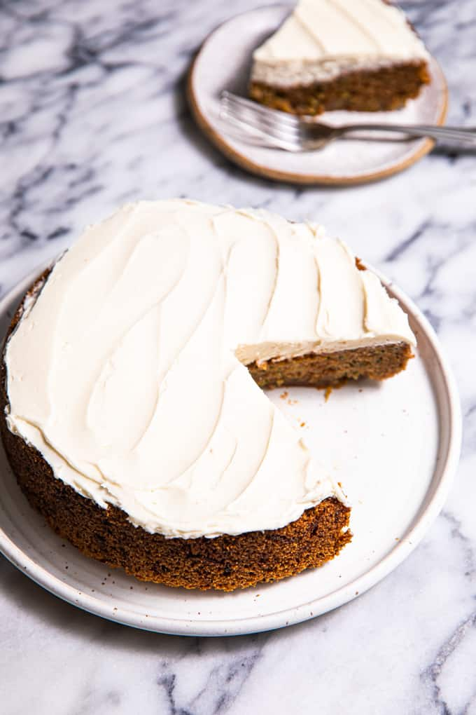 Gluten Free and Paleo Zucchini Cake